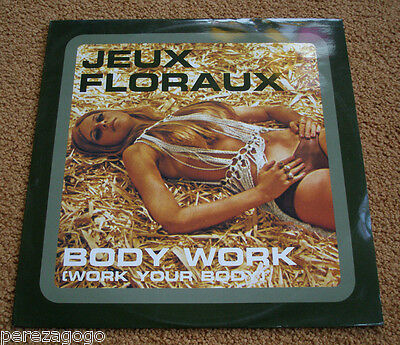 Jeux Floraux - Body Work // 12-Inch /  Sexy Semi Nude Cover