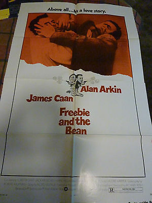 Freebie And The Bean US 1 Sheet Poster, Pressbook, and Lobby card Set.
