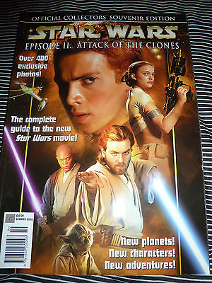 Star Wars Episode II: Attack Of The Clones Official Collectors Souvenir magazine