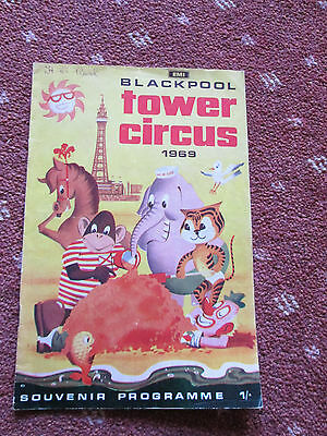 Blackpool Tower Circus - 1969 - Programme