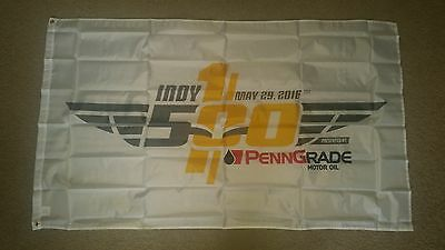 Brand New Indy Indianapolis 500 100th Running 3'x5' Polyester Banner Flag
