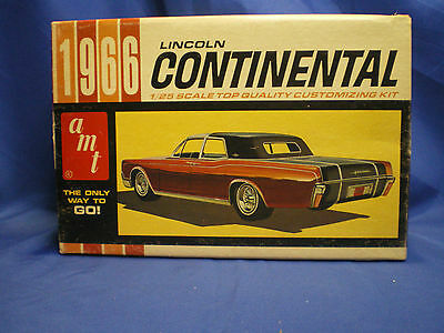 1966 Lincoln Continental Hard top by AMT built factory stock with box Kit # 6426