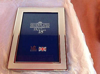 """Silver Plated Photo Frame, Boxed, 5""""X7"""""""