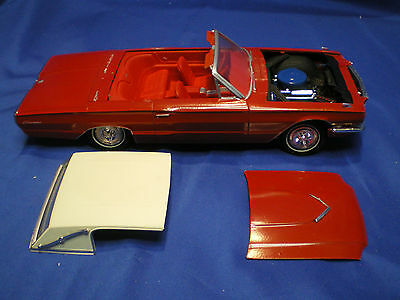 1966 Thunderbird Hard top by AMT built factory stock 2nd edtion with instruction
