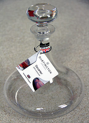 Dartington Crystal Admiral's Decanter with free Decanter Cleaning Pellets
