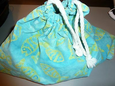 childs bag cloth rope pull