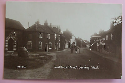 W.H.A. RP Postcard 1916 COOKHAM STREET,LOOKING WEST,COOKHAM BERKSHIRE