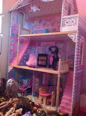 Massive Dolls House Dolls And Accessories Bundle