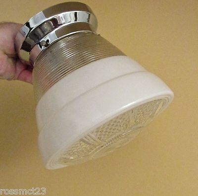 Vintage Lighting 1950s Mid Century Modern kitchen fixture