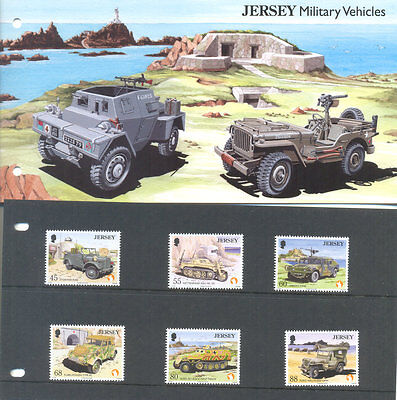 Jersey-Military Vehicles set and Presentation pack-Military-Cars-Tanks-trucks