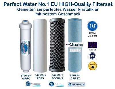 "Perfect Water No.1 Filterset 10"" Osmoseanlage Ultimate PLUS PRO Side Stream"