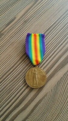 WW1 VICTORY MEDAL Mercantile Fleet Auxilliary