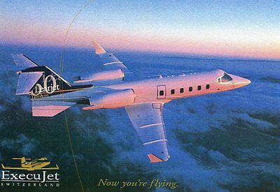 EXECUJET CHARTER  Learjet 60  Airline Issue