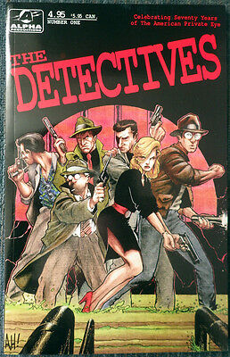 The Detectives #1 Alpha Productions! MAZE Agency! Mike Mauser! Mike Mist! More!