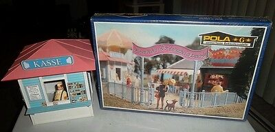 G Scale Pola LGB  1/22.5 Ticket Counter And Entrance For Circus New In Box