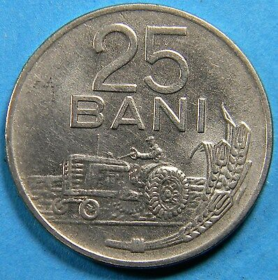Romania 1960 25 Bani coin