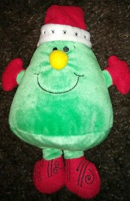 Mr Men-Mr Christmas soft toy,  from McDonald's,  30years of Mr Men