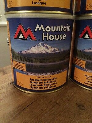 Freeze-dried food, Mountain House Spaghetti Bolognaise 650g BB 2037
