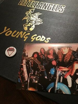 """Little Angels Young Gods 12"""" Vinyl Record Limited Edition Near Mint"""