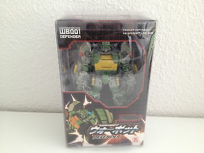 Transformers FansProject Fans Project Warbot WB001 Defender (Springer)