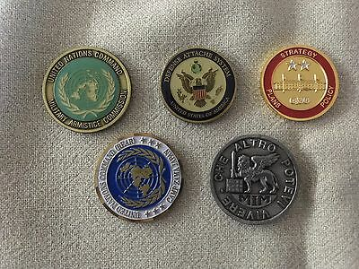 US military challenge coins