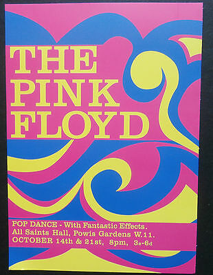 Pink Floyd - The Pink Floyd - Repro 1966 Gig Poster