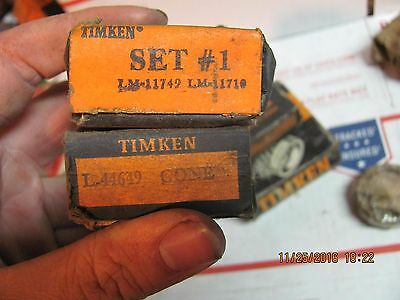 Lot of Timken Bearings and Misc Bearings Mostly NOS