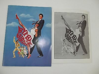Bye Bye Birdie Large Format Playbill / Press Kit Tommy Tune Color Booklet