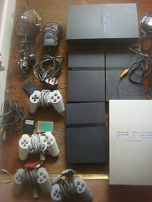 5 Sony PlayStation Two PS 2 Console Console's Bundle x 5