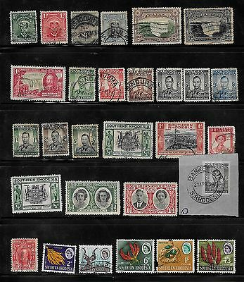SOUTHERN RHODESIA - Part-Sets to 5/-   G/U
