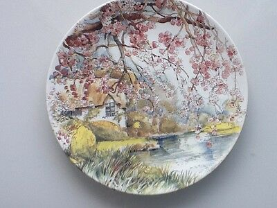 Poole Pottery Spring Plate One Of The Foue Season's Design