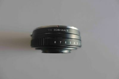 Canon EF to Micro 4/3rds Lens Adapter with Tilt Control