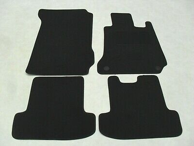 Mercedes E Class Convertible Auto 2009-17 Fully Tailored Deluxe Car Mats inBlack