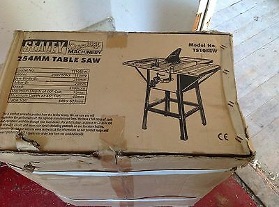 Sealey Table Saw 254mm Model TS10SEW