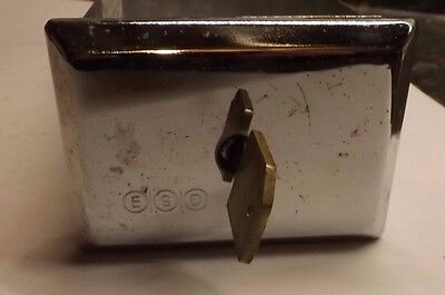 """Esd 8"""" Coin Box With Key - Excellent Condition"""