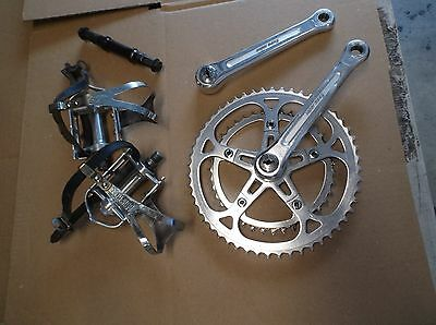 Vintage Sugino Super Maxy 170mm Bottom Bracket MKS road crank old school BMX
