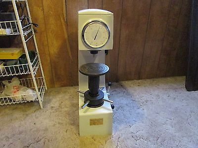 Rockwell hardness tester HR-150A used less than 10 times.
