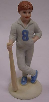 "Enesco ""growing Up Boys"" 1983 Ceramic Figurine"