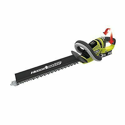 Ryobi ONE+ Cordless Hedge Trimmer with 1.5 Ah Battery and Charger, 18V