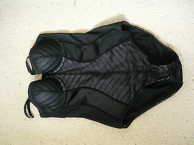 Ladies Marks And Spencer Underwired Padded Cup Bodyshaper Shapewear ~  38B
