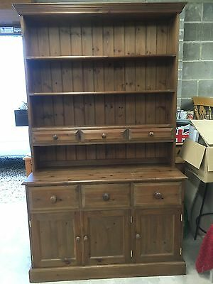 Dresser-Welsh Dresser-Kitchen Dresser- Solid Wood-Heavy