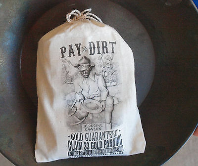 Bonanza! Klondike Paydirt.Gold Guaranteed!All Pickers! Free Shipping Worldwide!