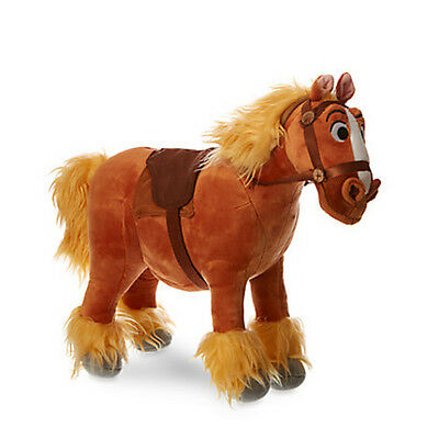 """Disney Store Philippe Plush Horse 12 1/2"""" H  Beauty and The Beast New With Tags"""