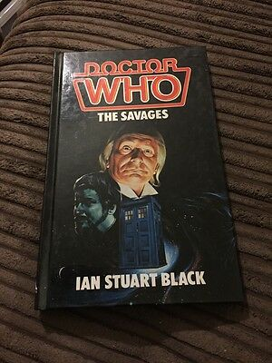 Dr Who The Savages Hardback Book By Ian Stuart Black
