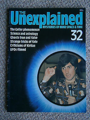 The Unexplained Mysteries of Mind Space & Time Volume 3 Issue 32 Orbis Publishin