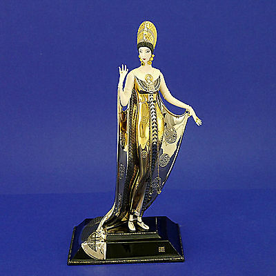 House of Erte Art Deco 'Isis' Porcelain Limited Edition No. AA129 Figurine - 27c