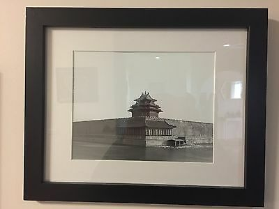 Great Wall, Forbidden City Photo Set With Black Frame Decor Art, $8 Each