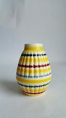 Vintage Hornsea Pottery 'Rainbow' Vase Designed by John Clappison