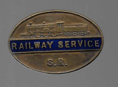 Railway  Badge Sr Ww2 Service Badge Number 16307