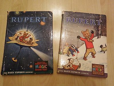 Rupert annuals 1966 and 1967